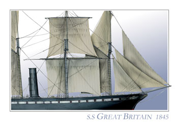 SS Great Britain 1845