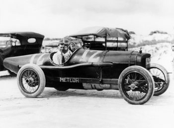 Jimmy Murphy in Duesenberg Racing Car