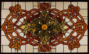 Leaded-glass Skylight Panel