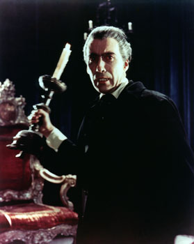 Christopher Lee in 'Dracula', 1958 Blinds: Creatively Different