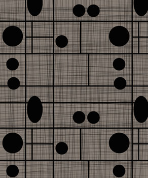 Black Grid Circles: Hemingway Design