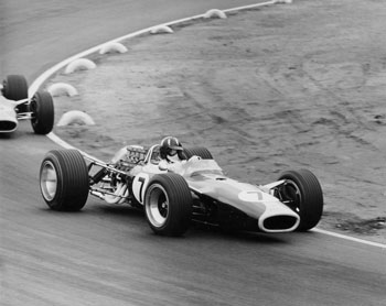 Graham Hill in Lotus 49, 1967