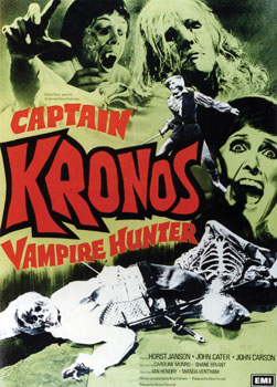 'Captain Kronos Vampire Hunter' Poster, 1974