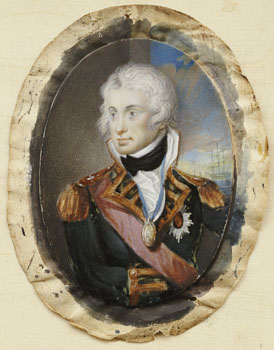Portrait of Horatio Nelson