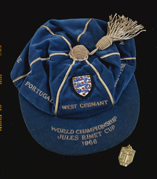 1966 World Cup Winner's Medal and Cap