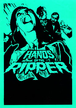 'Hands of the Ripper' Film Poster, 1971