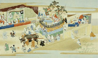 Festival Scene, Events of The Twelve Months of the Year Handscroll