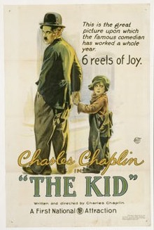 The Kid, 1921, First National, One-Sheet Movie Poster
