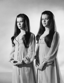 Mary And Madeleine Collinson In Twins Of Evil 1971