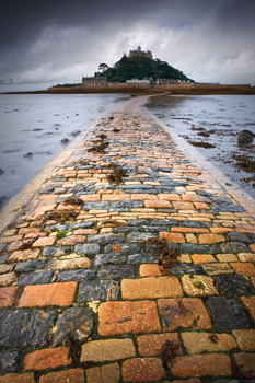 Follow the Yellow Brick Road - St Michael's Mount