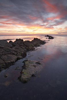 Sunrise at Peveril Point