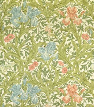 Iris Wallpaper, William Morris and Co.
