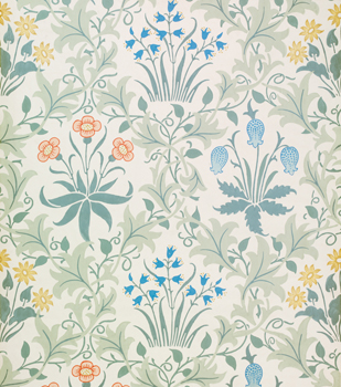 Wallpaper from William Morris and Co.