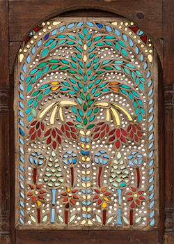 Stained Glass Window, Egypt or Syria