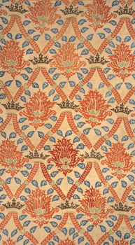 Ottoman Hanging Linen embroidered with Silk Thread: V&A