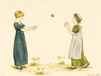 Children Playing - Kate Greenaway