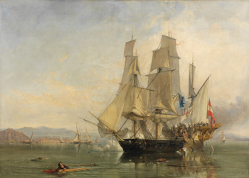The Action and Capture of the Spanish  Xebeque Frigate 'El Gamo'