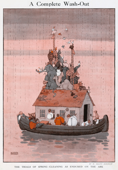 'A Complete Wash-out' by W. Heath Robinson