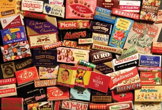 Confectionery from the 1950s