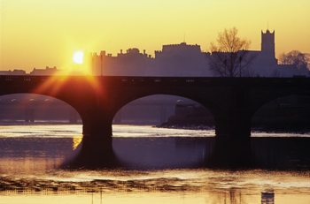 Sunset, Skerton Bridge, Lancaster
