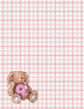 Lula on Pink/Green Gingham