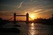 Sunrise at Tower Bridge, London