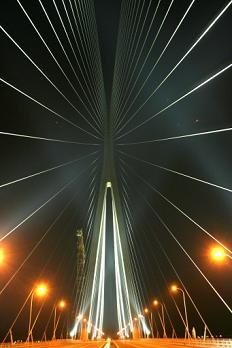 Sutong Bridge in Nantong, Jiangsu Province, China