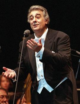 Placido Domingo, 2001