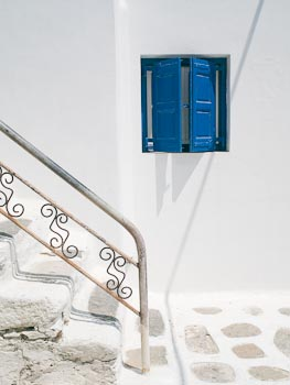 Window and Staircase, Mykonos