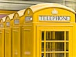 Yellow Telephone Boxes