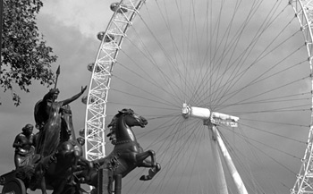 Boadicea and the London Eye