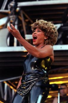 Tina Turner at Wembley, 2000