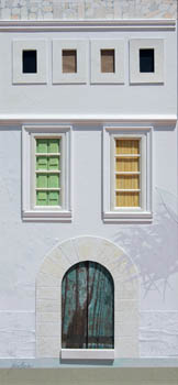 Green and Yellow Shutters