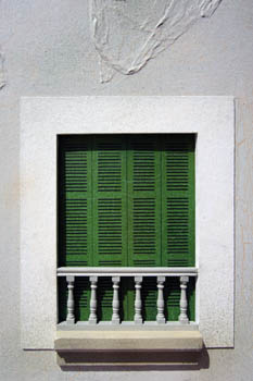 Green Shutters at No 43