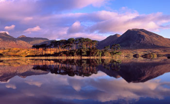 Morning Reflections of the Twelve Bens, Connemara