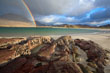 Rainbow at Glassillaun Beach, Co. Galway