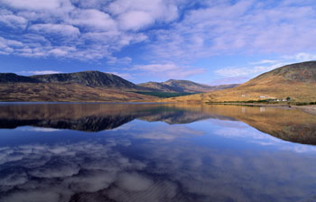 Lough Feeagh and the Nephin Beg Mountains, Co. Mayo