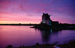 Dunguaire Castle at Sunset, Kinvara, Co. Galway