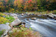 Autumnal Colours on the Ellis River, Jackson, White Mountains, USA