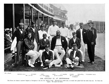 England, Trent Bridge, 1899