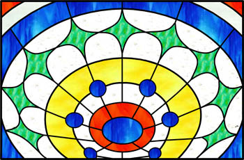 Dome - Stained Glass