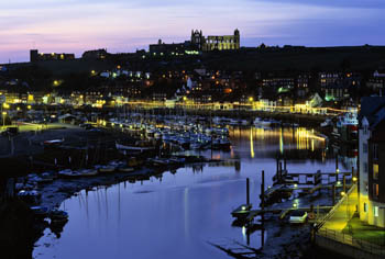 Whitby at Night, North Yorkshire (4)