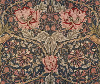Honeysuckle Furnishing Fabric by William Morris and Co.