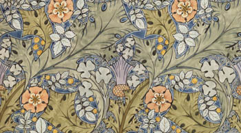 Textile Design by C.F.A. Voysey, 1915