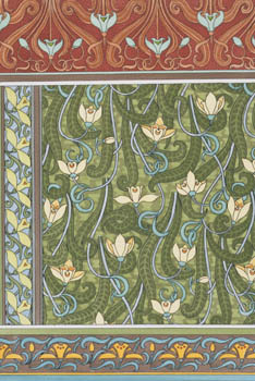 Snowdrops Wallpaper by Eugene Grasset