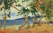 By the Seashore, Martinique, Paul Gauguin