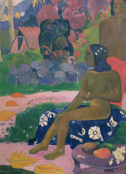 Vairaumati Tei Oa (Her Name is Vairaumati), Paul Gauguin, 1892