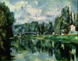 The Banks of the Marne at Creteil, Paul Cezanne, c. 1888