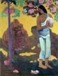 Te Avae No Maria (Tahitian Woman with Blossom), Paul Gauguin, 1899