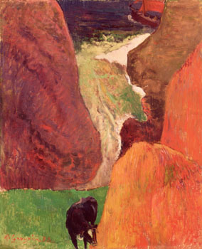 At the Bottom of the Gulf, Paul Gauguin, 1888
